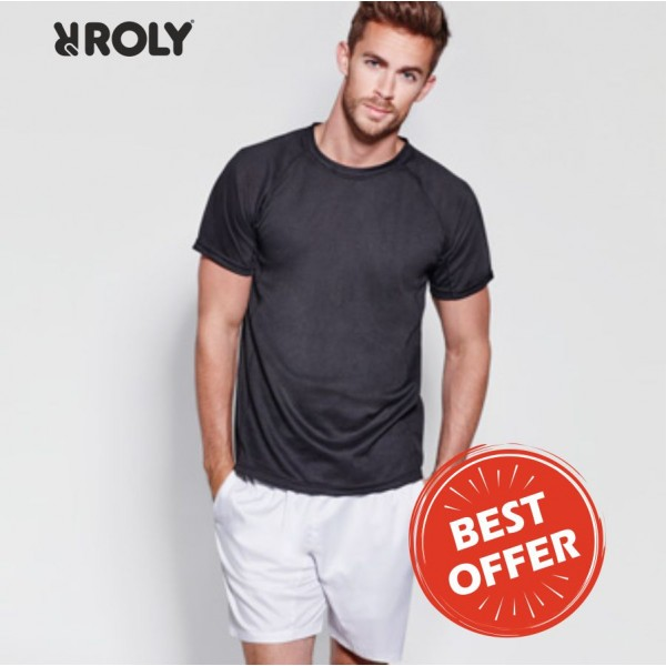 Τεχνικό μπλουζάκι Roly Montecarlo (0425) Διαφημιστικά Μπλουζάκια - T-shirts