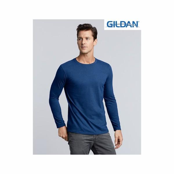 Διαφημιστική Μπλούζα μακρυμάνικη Gildan (64400) Διαφημιστικά Μπλουζάκια - T-shirts