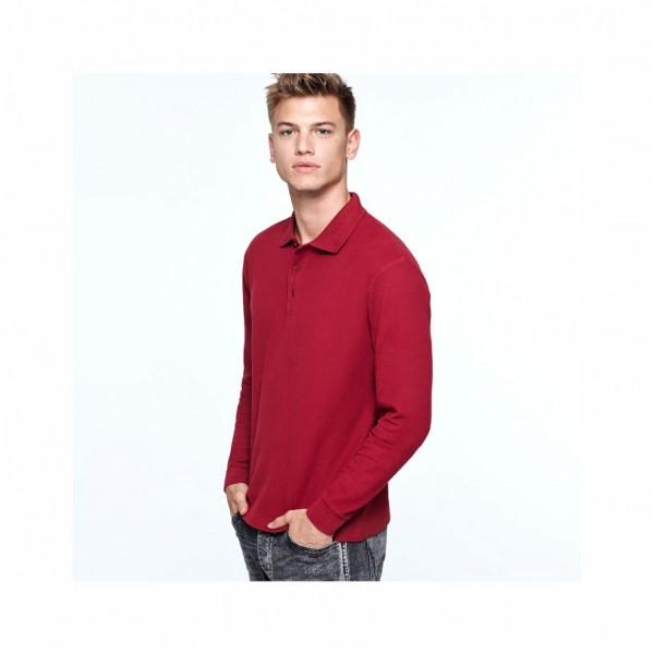 Διαφημιστικα μπλουζακια πολο - Μπλουζάκι πόλο μακρυμάνικο Roly (6635) Διαφημιστικά Μπλουζάκια Polo