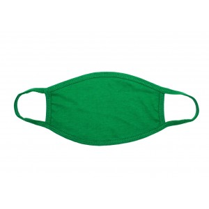 Διαφημιστική Μάσκα Βαμβακερή Πράσινη (MSK0010)