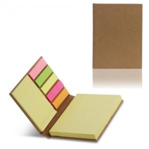 Οικολογικό σημειωματάριο με post-it (S26480) Οικολογικά Είδη