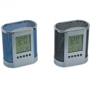 Μολυβοθήκη   ψηφιακό ρολόι (3168) Είδη Γραφείου - κομπιουτεράκια