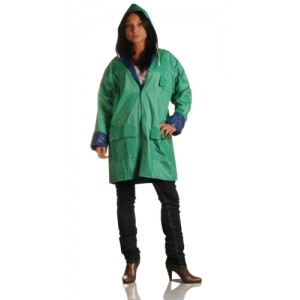 Aδιάβροχο 2 όψεων με κουμπιά (Κ18510) Μπουφάν - Γιλέκα εργασίας - Αδιάβροχα