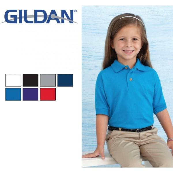 Διαφημιστικα μπλουζακια πολο - Μπλουζάκι polo Gildan παιδικό (8800B) Διαφημιστικά Μπλουζάκια Polo