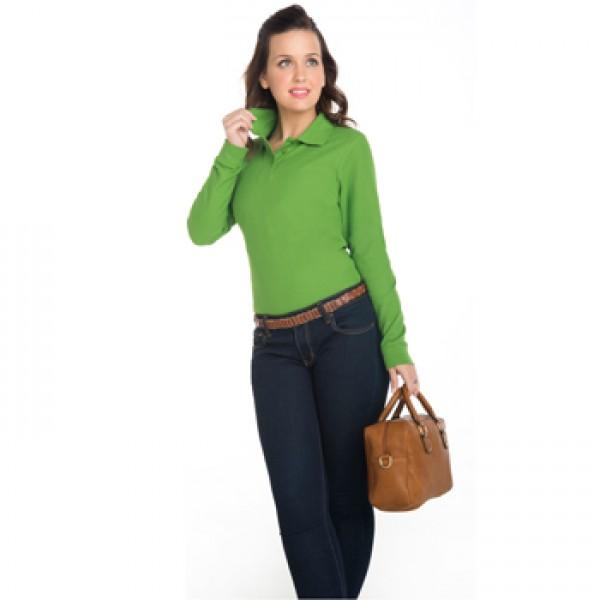 Διαφημιστικα μπλουζακια πολο - Γυναικείο πόλο μακρυμάνικο ROLY (6636) Διαφημιστικά Μπλουζάκια Polo