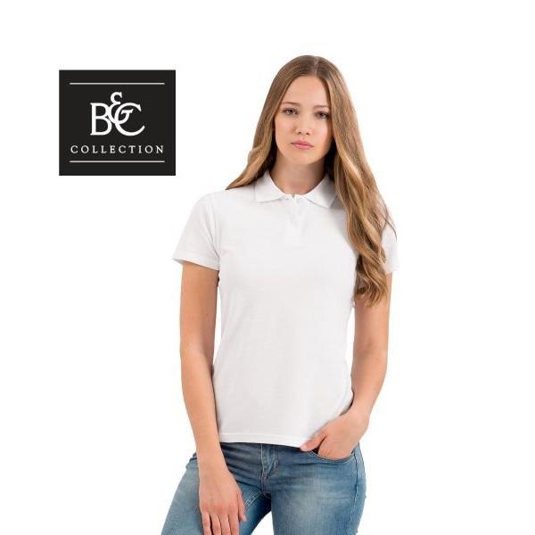 Διαφημιστικα μπλουζακια πολο - Μπλουζάκι polo B&C γυναικείο κοντομάνικο ( ID001W) Διαφημιστικά Μπλουζάκια Polo
