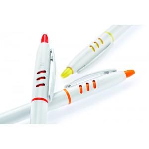 Στυλό Stilolinea με λευκό  κορμό (S30) Στυλό Διαφημιστικά