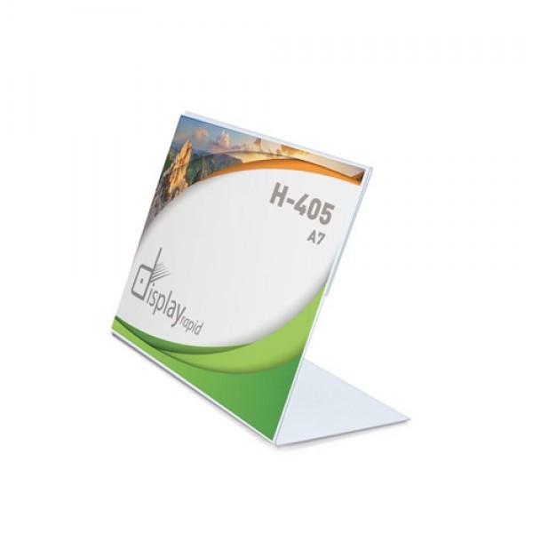 Σταντ Α7 (H-405)  Σταντ Επιτραπέζια PVC