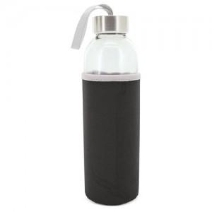 Γυάλινο Μπουκάλι με Θήκη 500ml (Z-9381) Κούπες Διαφημιστικές