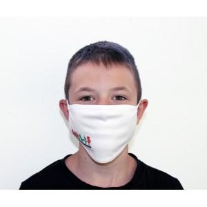 Μάσκα Βαμβακερή Παιδική Λευκή (MSK002J) ΜΑΣΚΕΣ ΠΡΟΣΤΑΣΙΑΣ ΥΦΑΣΜΑΤΙΝΕΣ - ΕΙΔΗ ΠΡΟΣΤΑΣΙΑΣ
