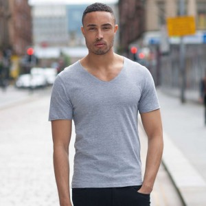 Μπλουζάκι με πλατύ V (SF223) Διαφημιστικά Μπλουζάκια - T-shirts