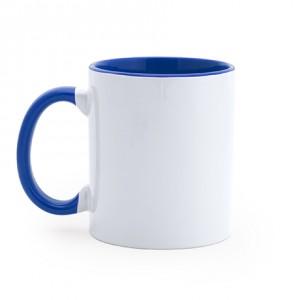 Διαφημιστική Kούπα Sublimation με Μπλε εσωτερικό και λαβή (MG0105)