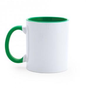 Διαφημιστική Kούπα Sublimation με Πράσινο εσωτερικό και λαβή (MG01226)